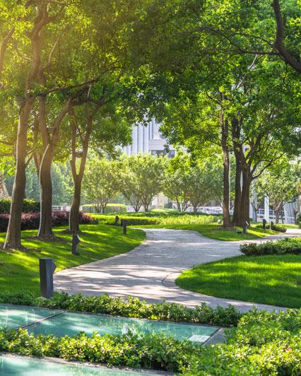 Entretien des espaces verts coperton for Entretien des jardins et espaces verts